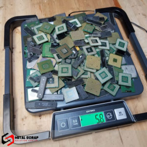 Ceramic-CPU Processor-Scrap for sale