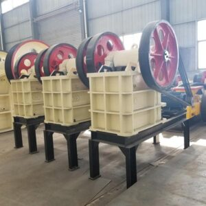 Jaw crusher in Mining, Metallurgy, Building and Chemical Industry